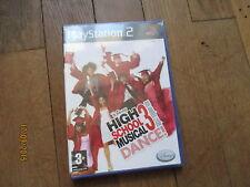 JEU VIDEO SONY PLAYSTATION 2 PS2 DISNEY HIGH SCHOOL MUSICAL 3 DANCE NEUF FILM
