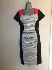 BNWT Ladies 'It's My Secret' Size 10 Multicoloured  Waist Control Dress RRP £75