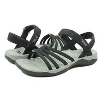 TEVA Womens Elzada Wed Sandals Black New