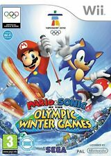 Mario & Sonic at the Olympic Winter Games Nintendo Wii Game Complete with Manual