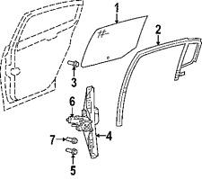 MOPAR 5155524AA GENUINE OEM FACTORY ORIGINAL WINDOW MOTOR