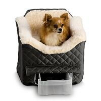 Snoozer Pet LookOut II Dog Auto Car Safety Booster Seats W/Drawer