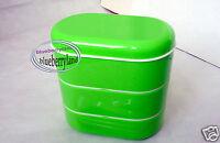 Japan Bento 3-Tier Lunch Box Set Chopstick Fork Belt Bag lunchbox Case ladies