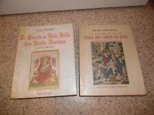 1951.Grande belle bible noels anciens.2/2.moyen age + régionaux.Poulaille