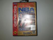 SEGA GENESIS TECMO SUPER NBA BASKETBALL USED UNTESTED