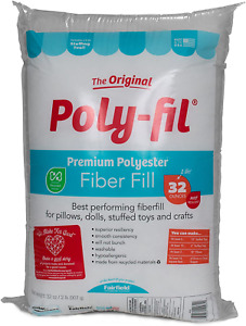 Polyfill Stuffing Polyester Fiber Pillow Stuff Filling Crafts Sewing Washable