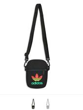 adidas  rasta jamaica small  festival bag  rare vtg retro new