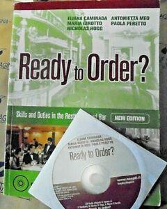 READY TO ORDER? - NEW EDITION - E.CAMINADA e altri - HOEPLI SCUOLA