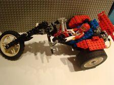 LEGO Technic 8857-  STREET CHOPPER TRIKE AVEC  PLAN + PILOTE  COMPLET 1993