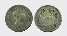 LUCCA - CARLO LUDOVICO BORBONE 1824-1847 -AG/ 1 LIRA 1834