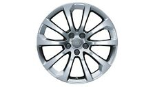 Original Audi A6 4F Aluminium-Felge 10-Speichen-Design 18 Zoll royalsilber