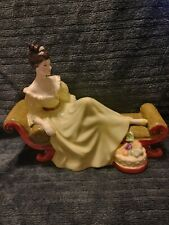 """Vintage Royal Doulton """"At Ease"""" Figurine 1972 Bone China Made In England"""