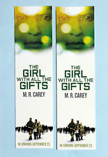 THE GIRL WITH ALL THE GIFTS FILM MOVIE BOOKMARKS X 2 - GEMMA ARTERTON  M R CAREY
