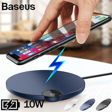 Baseus 10W Fast Charger Pad Qi Wireless Charger Pad for iPhone XS Samsung LG V30