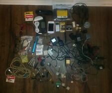 Electrician electronics lot fuses power supplies iPhone iPod car battery charger