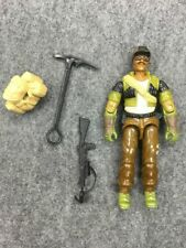 Vintage Original GI Joe 1985 Alpine gun weapon No Elbow Cracks Figure lot ARAH