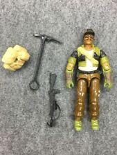 Vintage Original GI Joe 1985 Alpine gun weapon No Elbow Cracks Figure lot ARAH