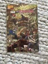 Army of darkness vs reanimator #3 Dynamite comics Bruce Campbell Evil Dead