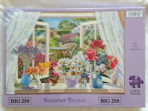 Brand New House of Puzzles BIG250 Large Piece Jigsaw Puzzle - SUMMER BREEZE