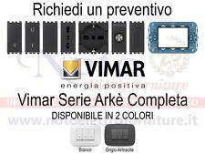 Vimar Arkè - PREVENTIVO supporti placche interruttori prese accessori