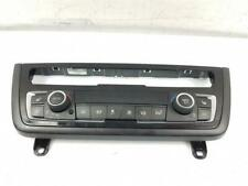 2014-2017 F36 BMW 4 Series Gran Coupe HEATER CONTROL PANEL ASSEMBLY + TRIM