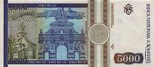 Roumanie 00103 SC/UNC 5000 lei année 1992 / N° 000949