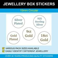Jewellery Box Stickers