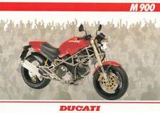 P + DUCATI M 900 + Prospekt flyer + 1 Blatt / 2 Seiten