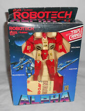 ROBOTECH EXCITE/GAKKEN RED ALPHA LEGIOSS AFC-01Z ROOK BARTLEY HENSHIN ROBO