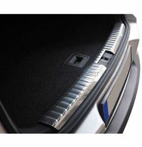Rear Bumper Sill Cover Protector Steel For VW Tiguan 2007-2016