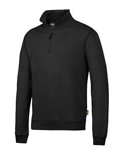 Snickers Workwear ½ Zip Sweatshirt with multipockets  - 2818