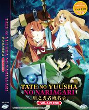 DVD ANIME Tate No Yuusha No Nariagari Vol.1-25 End ENGLISH VERSION + FREE SHIP