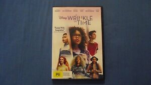 A Wrinkle In Time Oprah Winfrey Reese Witherspoon - DVD - R4 - Free Postage
