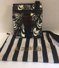 L.A.M.B. By Gwen Stefani Zebra print Coated canvas and leather Crossbody bag