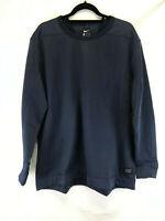Nike Golf Therma Sweatshirt Pullover 2XL XXL Navy Crewneck Sportswear 932342-451