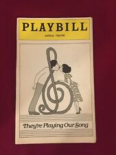 Playbill They're Playing Our Song Diana Canova 1981 Imperial Theatre
