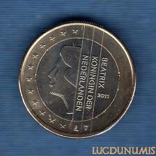 Pays Bas 2011 - 1 Euro - Pièce neuve de rouleau - Netherlands