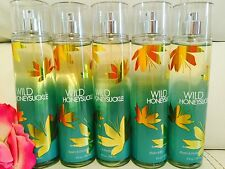 5 Bath & Body Works Wild Honeysuckle body mist spray 8.4 Oz Free Ship