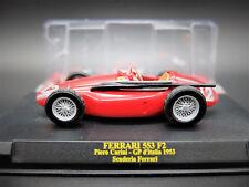FERRARI FÓRMULA 1 UNO F1 1/43 553 F2 GP ITALIA MODELO COCHE CAR IXO