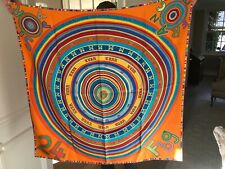 Authentic Hermes Silk Scarf.  90 CM. with box