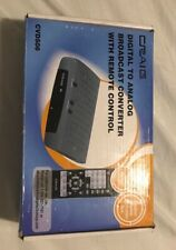 Craig CVD509n Digital to Analog Broadcast Converter with Remote Control