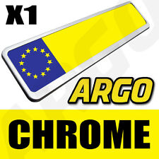 CHROME NUMBER PLATE HOLDER CHEVROLET AVEO LACETTI EPICA