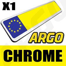 CHROME NUMBER PLATE HOLDER ALFA ROMEO BRERA MITO COUPE