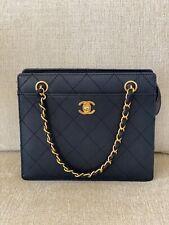 Authentic Chanel  Black Caviar Bag