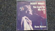 Debby Boone - You light up my life/ Hasta manana 7'' Single [ABBA Coverversion]