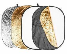 Quadralite Pannello Riflettente 5in1 180x120 Figura Intera Bianco Argento Oro