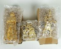 Star wars die cast vintage lobster clasp key ring Vader yoda trooper 1998 Sealed