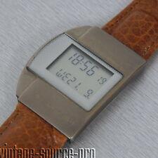 Junghans Mega 1 Herren Funk Armbanduhr Braun Silber Seriennummer 26 / 0012006
