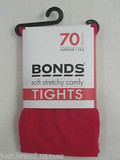 Bonds Girls Ladies 70 Denier Opaque Tights sizes Avg Tall XTall Colour Pink