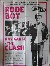 RUDE BOY 47x73 French movie poster 1980 THE CLASH